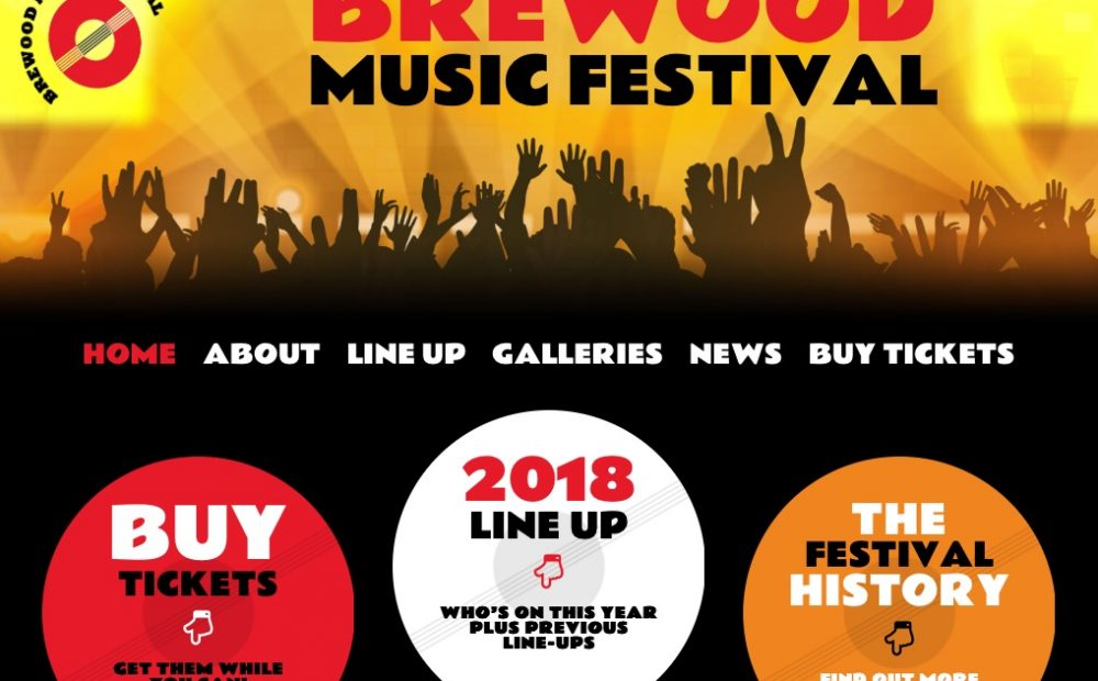 Brewood Music Festival Website