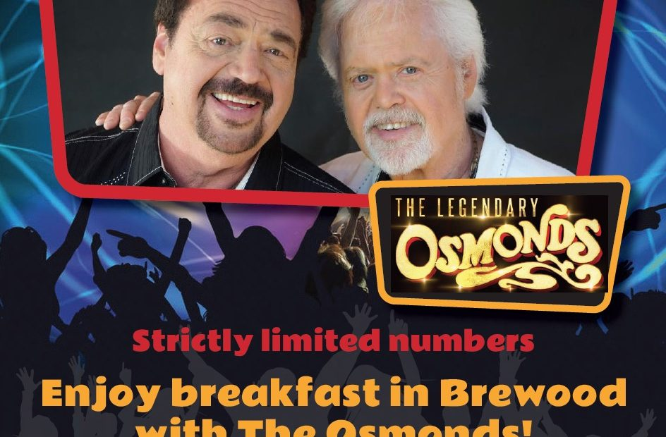 Breakfast with the Osmonds